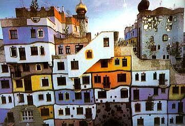 The Hijabi Beauty of doing nothing .........: Hundertwasser Haus Wien