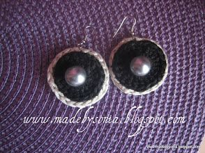 Foto: EG 002 Black earrings - 7,5€