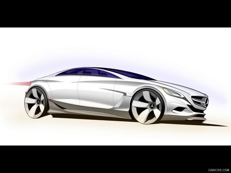 mercedes benz f800 style concept 2010 design sketch 1024x768
