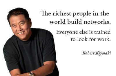 robert kiyosaki quotes attraction marketing network