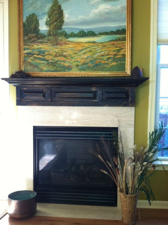 17 Best Ideas About Distressed Fireplace On Pinterest