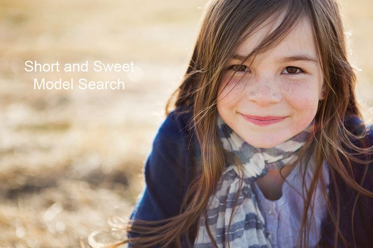 Short and Sweet Photography Model Search--Calgary, AB. Kids 5-12 years of age.