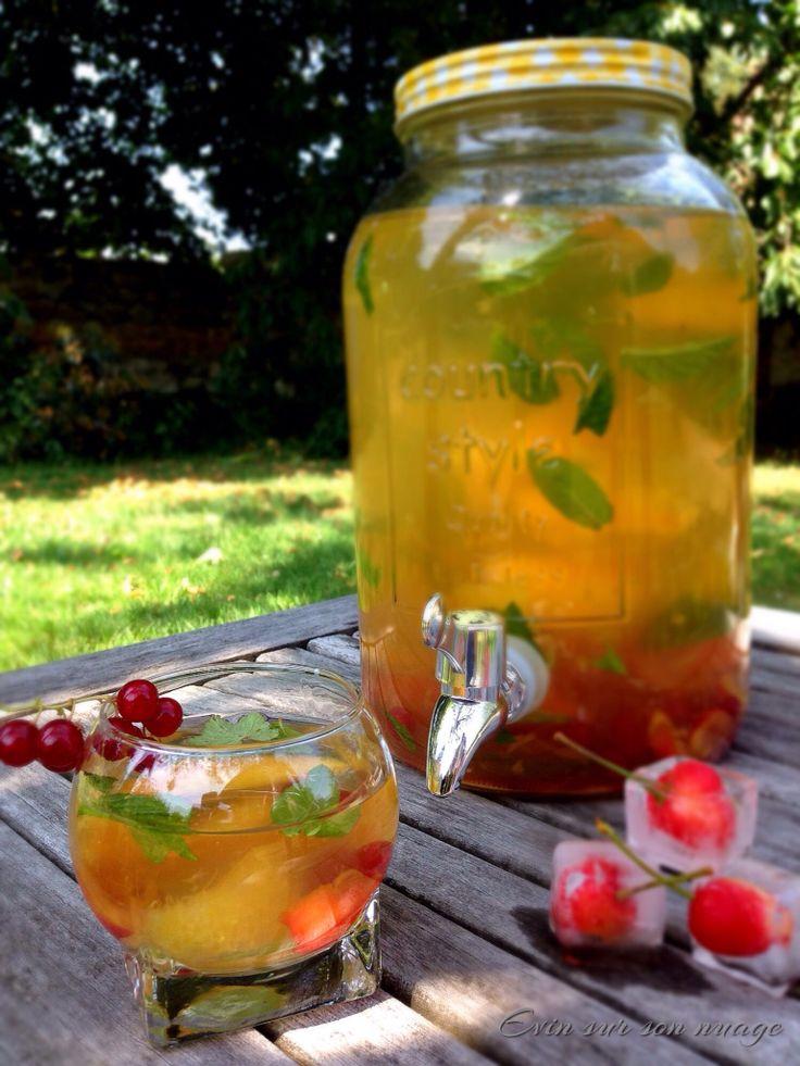 Ice fruity tea ☁️☁️☁️