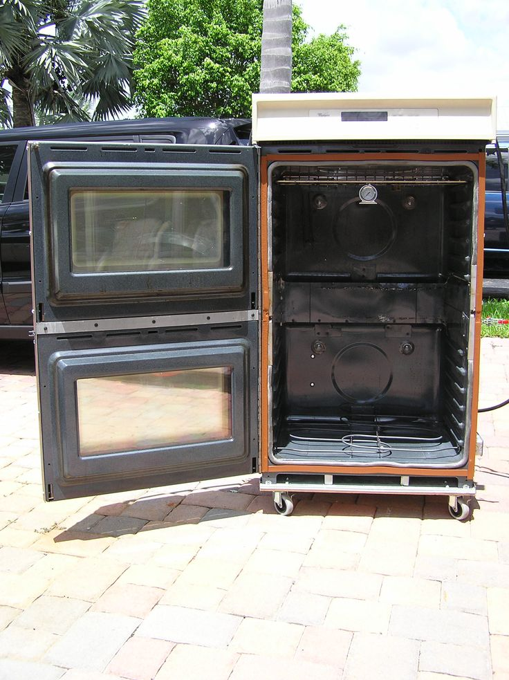 DIY powder coat oven