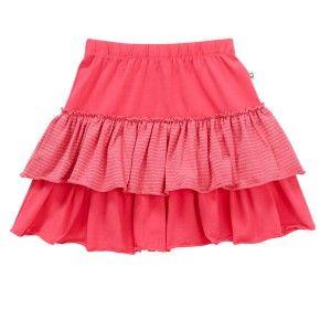 Hootkid Go Ra Ra Skirt - Hot Pink Purex Stripe