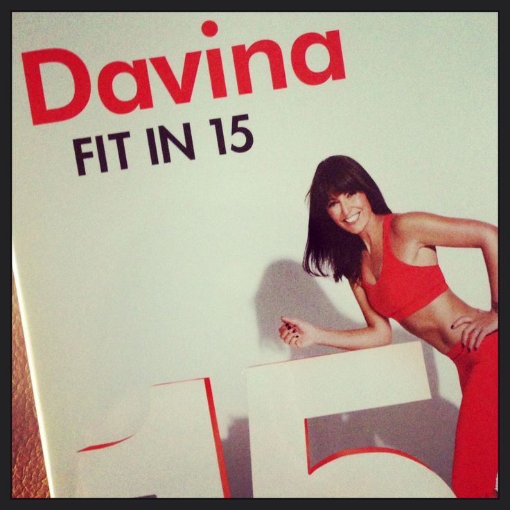 I recommend Davina Fit in 15 DVD.
