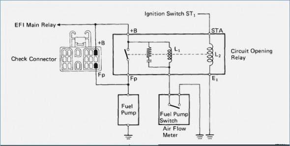 1993 Toyota Pickup Fuel Pump Wiring Diagram Toyota Fuel Power