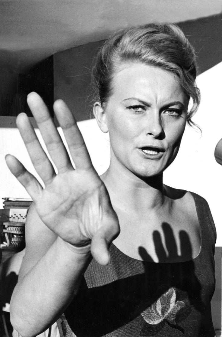 Monica Zetterlund, 1963. Foto: Hans Ge Eriksson