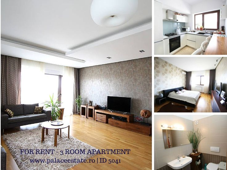 The apartment has a usable area of 112 square meters and is divided as follows: closed kitchen, two bathrooms, two bedrooms of which the matrimonial has its own bathroom and dressing room, and a terrace of 16 square meters. The finishes are premium and is rented fully furnished and equipped with a parking spot in the underground. Heating system is with central heating, construction and quality materials ensure an optimal comfort and low maintenance costs.  www.palaceestate.ro | ID 5041