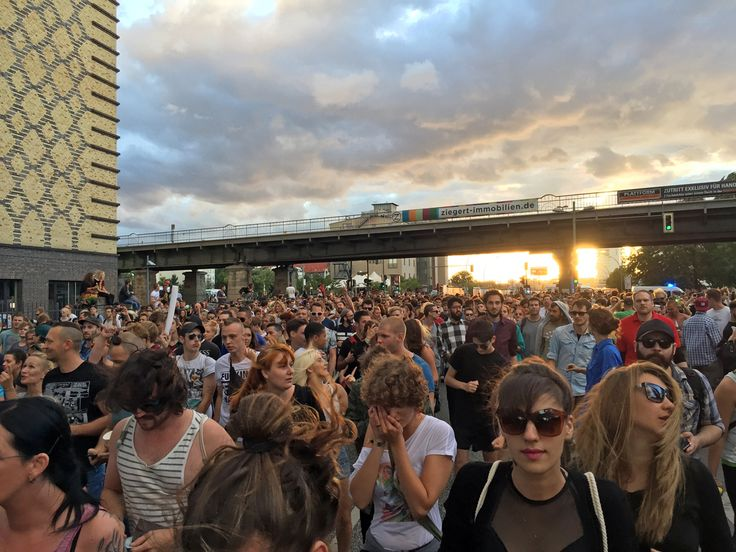 """Berlin celebrates love and techno with the new Zug der Liebe (""""train of love"""") — the newest reiteration of the once famous Love Parade"""