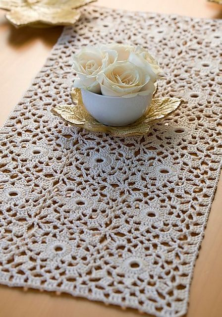 17 Best images about 1.-Tejido Crochet: Cortinas, Manteles ...