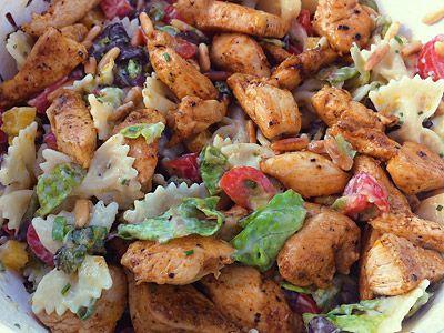 Am Wochenende mal wieder Zeit gefunden, einen der vielen Nudelsalate nachzukochen, die noch ohne Foto sind: http://www.nudelsalat-rezept.de/rezepte/25-pikanter-nudelsalat/