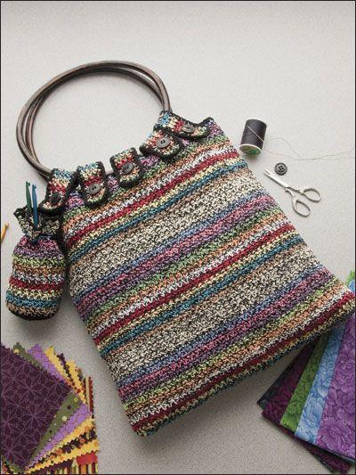 Scrap Bags #Crochet Purse