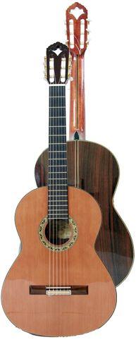Ver Modelo Alcazar de India, Guitarra Clásica del Constructor Francisco Bros, en el Blog de guitarra Artesana