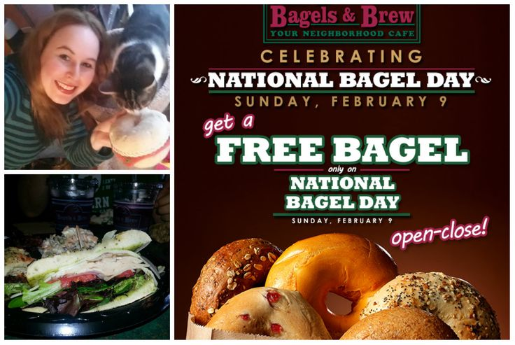 Bagels and Brew National Bagel Day FREE BAGEL for Everyone and a GIVEAWAY