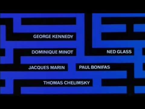 Charade (1963) Opening Titles. Maurice Binder