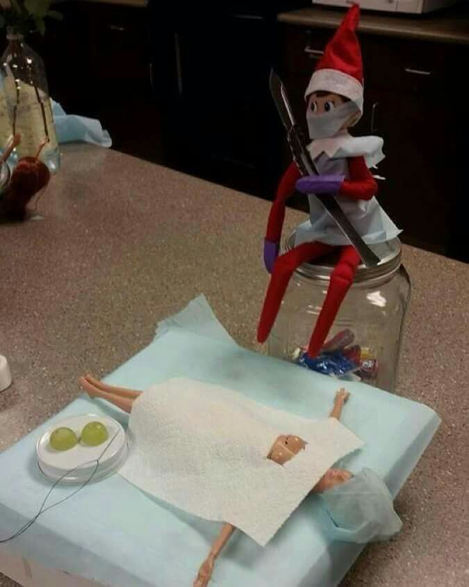 Jr S Steakhouse Awesome Elf On The Shelf Ideas Elf On