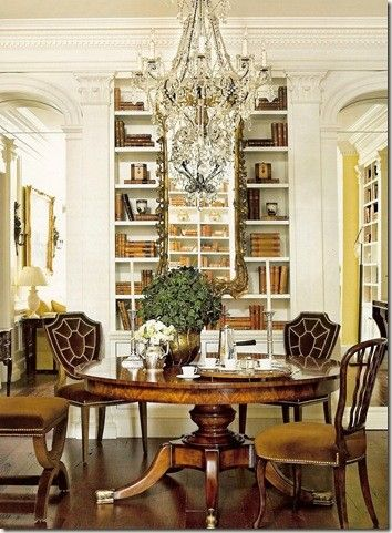 ♥Library style dining