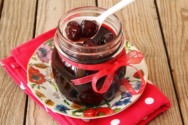 doce de cereja-cherry jam