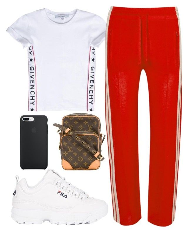"""1037"" by florentina616 ❤ liked on Polyvore featuring Givenchy, Étoile Isabel Marant, Fila and Louis Vuitton"
