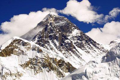 Mount Everest, Tibetan Plateau, Nepal and TIbet