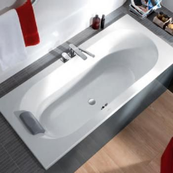 Villeroy & Boch Loop & Friends Duo rectangular bath white