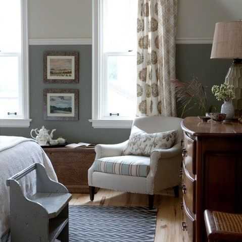 chair rail installed higher bedrooms pinterest