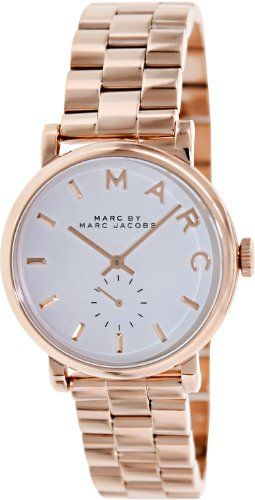 Marc by Marc Jacobs Silver Dial Rose Gold-tone Ladies Watch MBM3244 Marc by Marc Jacobs http://www.amazon.com/dp/B00BFNASEY/ref=cm_sw_r_pi_dp_awt4tb1R5HFD3