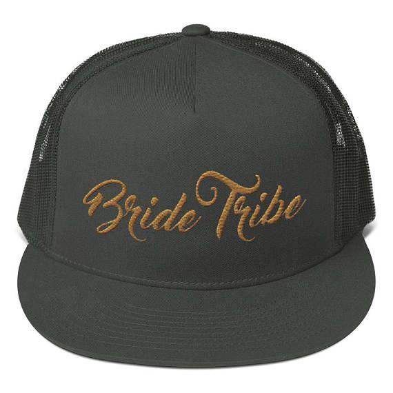 Casquette Bride Tribe Team Bride Trucker Hat Cap