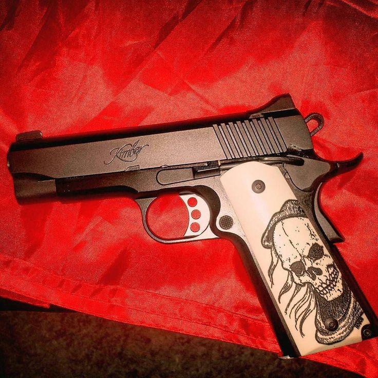 From @diaz_thrash_deleon -  My new Kimber pro carry 2! #2ndamendment #firearmsandgames #kimber #procarry2 #tacticool #m1911 #firearmphotography #1911 #badass #shooting #handgun #firearm #c1911 #defendthesecond #railgun #45acp #2a #tactical #gunporn #pistol #pentelbrushpen #grafikdesign #study #instaart #ink #history #streetfashion #phuket #fashion