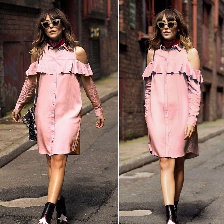 Toplook холодного плеча платья рюшами лето сексуальная футболка с длинным рукавом dress розовый черный короткие женщин с плеча 2017 vintage dress купить на AliExpress