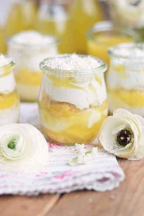 Zitronen Joghurt Tiramisu - Lemon Yogurt Tiramisu   Das Knusperstübchen