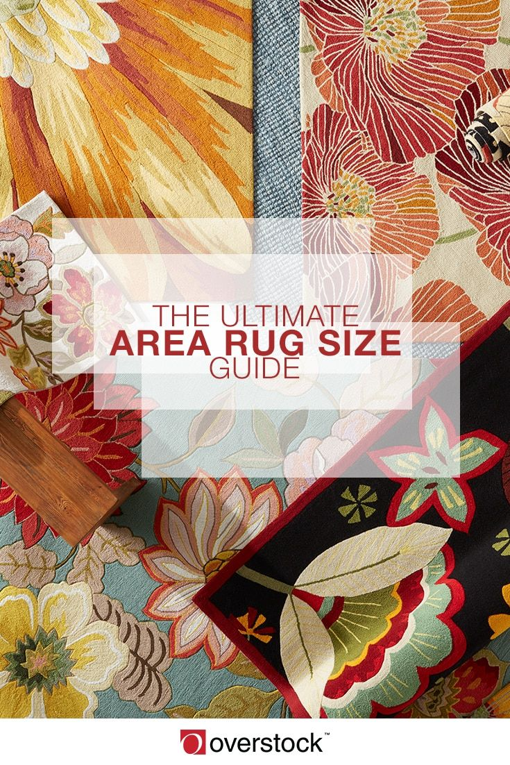The right size rug is essential to creating a room that looks well thought out and well decorated. Our complete guide to area rug sizing will help you determine the right rug for your space.