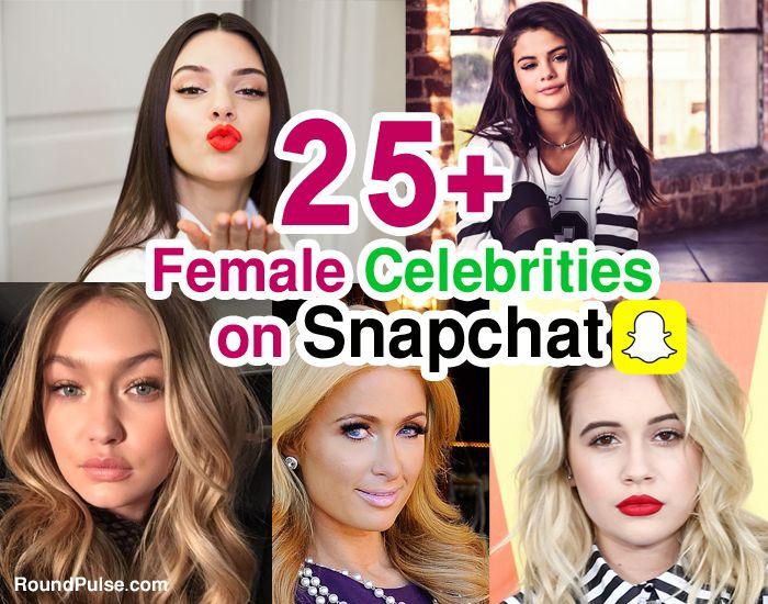 Female-Celebrities-on-Snapchat
