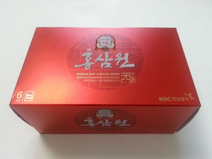 New 6 Years Root Korean Red Ginseng Korean Natural Health Drink 10Packs #CheongKwanJang