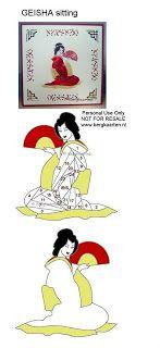 Irisvouwen: Oriental