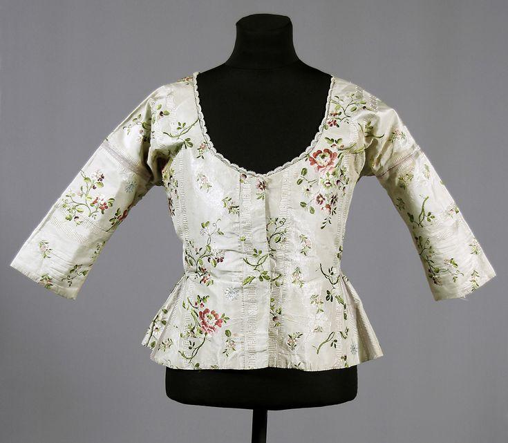Jacket, c. 1770, Swedish.