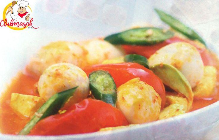 Resep Sambal Goreng Telur Tahu Tauco, Resep Masakan Sehari-Hari Dirumah, Club Masak