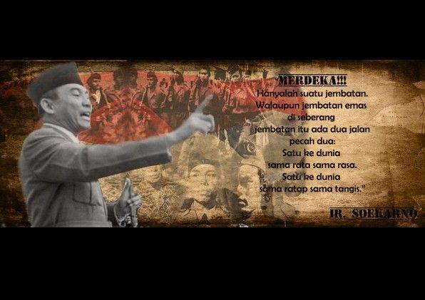 Poster pahlawan (Ir. Soekarno)
