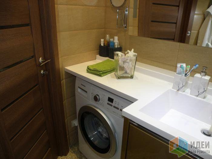Ремонт ванной комнаты, ванная комната раскладка плитки, стиральная машина в…