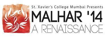 Malhar (St.Xavier's College, Mumbai), will be held on the 14th,15th, 16th August. To watch our Theme Video https://www.youtube.com/watch?v=5ewVQix_UEY Watch the Conclave video: https://www.youtube.com/watch?v=WYDhTb-YK-8 Instagram-@malharfest and Twitter-@Malhar2014 Register on malharfest.org
