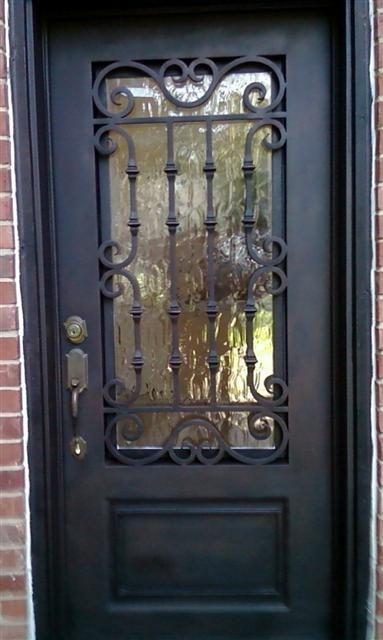 Single Iron Doors | Putz Iron Doors Dallas | Home | Iron Works Dallas Texas | Plano | Southlake |