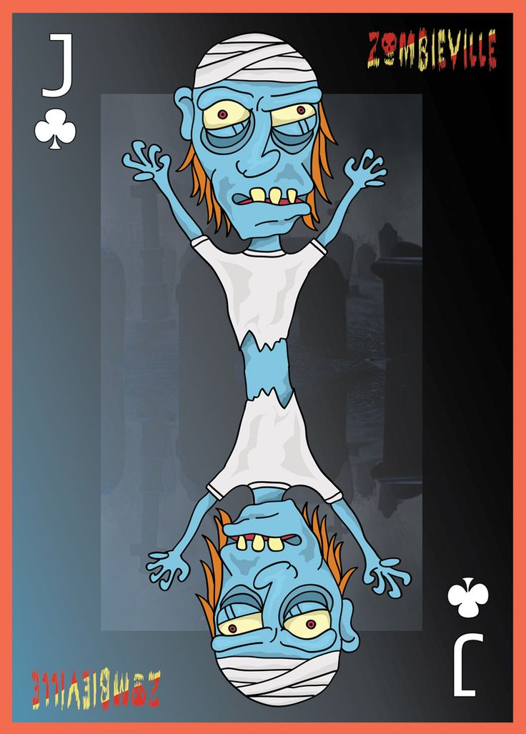 Customized Playing card design: Jack of clover