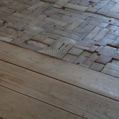end grain flooring--I see this in old factory buildings here in the south