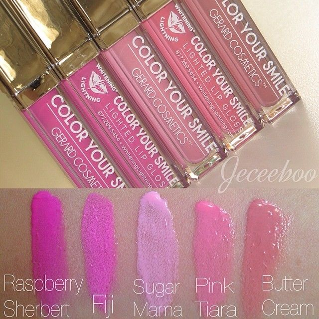 ❤ http://ibeautyoutlet.com/ Pink lipgloss by Whitening Lightning
