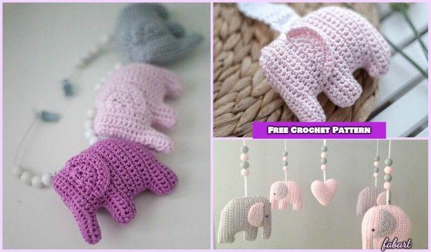 Crochet Elephant Amigurumi Easy Video Instructions | 360x616