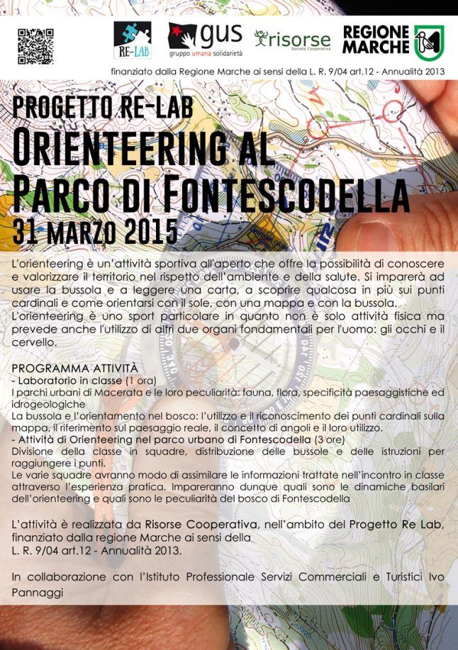 Attività Risorse Cooperativa: Orienteering