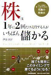 株は1年に2回だけ売買する人がいちばん儲かる  伊藤智洋 日本実業出版社