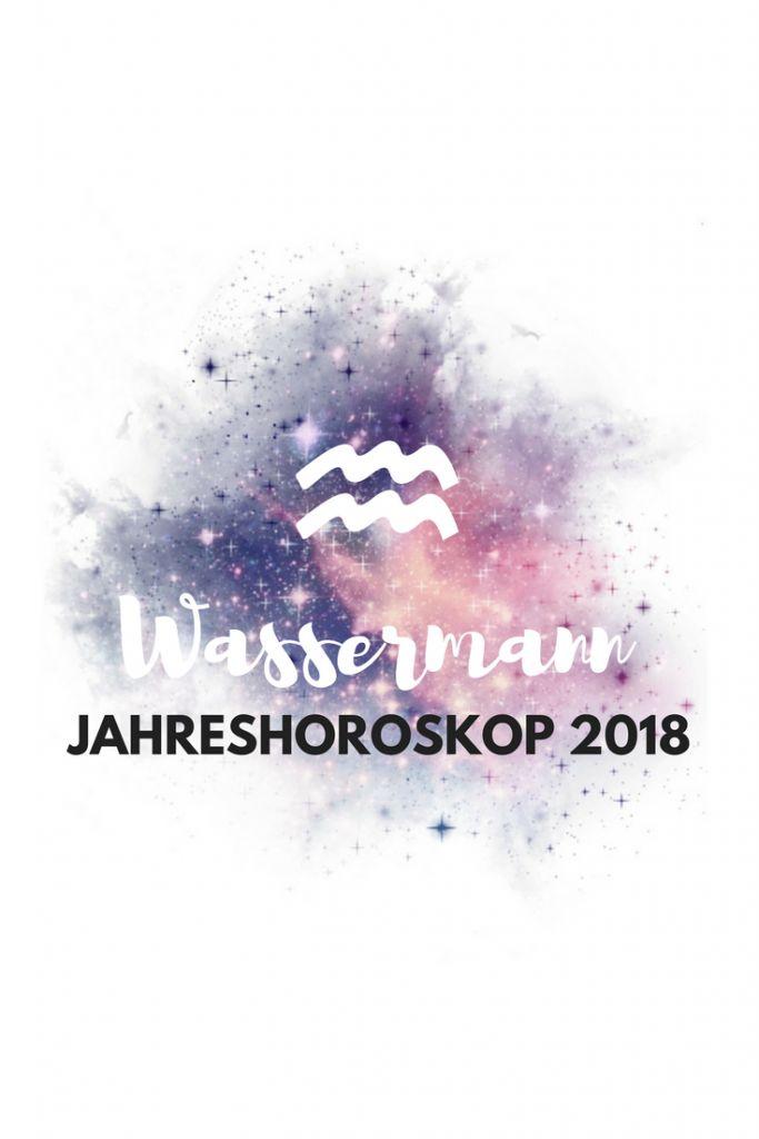 Wassermann Jahreshoroskop 2018