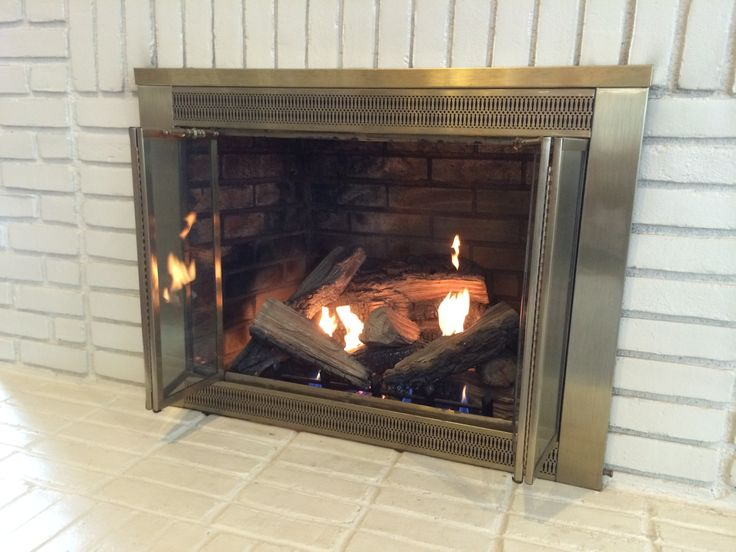 ventless fireplace insert takes the chill off winter - Ventless Gas Fireplaces